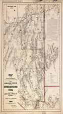 Photo Reprint Antique American Cities Towns States Map Nevada