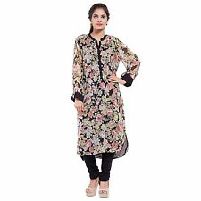 GOODWILL Women's Casual Wear Blossomy Georgette Kurti(GW-643)