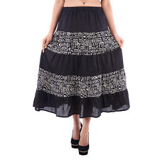 GOODWILL Women's Casual Wear Subtle Viscose Skirt (GW-331)
