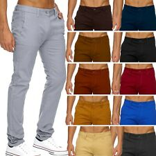 CHINO Stil lange Hose gerades Bein Slim - Regular Fit Chino Trousers Blogger Neu