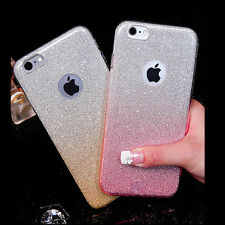 antiurto Custodia Silicone Bling Morbida per iPhone Cover Trasparente TPU Case