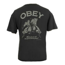 T-shirt Obey Good Times Gone Superior Tee Pirate Black