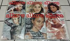 6 Allure Magazine Issues 2016 January May June July August September Issue Lot