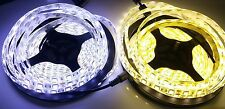 5M 5050 SMD 300 LEDs Waterproof IP65 Strip White/Warm White