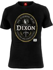 The Walking Dead Dixon Label Männer T-Shirt schwarz
