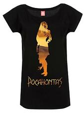 Pocahontas In The Woods Girl Shirt black