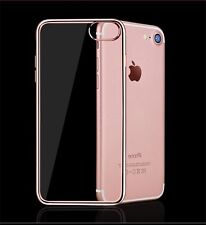 New Transparent Crystal Clear Case Gel TPU Soft Cover Skin for iPhone 6,7, 7+