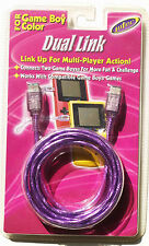 Cable Link Game Boy Color 2 joueurs - Dual Link Gameboy Color Intec NEUF NEW