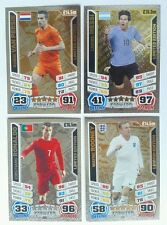 MATCH ATTAX 2014 WORLD CUP LIMITED EDITION & HUNDRED CLUB CARDS LE1-LE4, 268-272