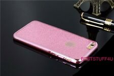 GLITTER BACK Fits IPhone  Soft Bling Shock Proof Silicone Case Plating Frame w29
