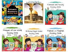 Islamic Activity Colouring Books for Muslim Children