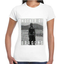 T-Shirt Game Of Thrones Maglia Donna Trono di Spade Daenerys Mother Of Dragons