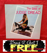 RECORD ~ LP ~ JUDGE DREAD ~ THE BEST / WORST OF JUDGE DREAD ~ FROM 1978 ~ RARE