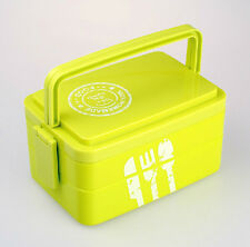 Japanese Bento Lunch Box Lunchbox with Handle Portable Picnic School BPA Free