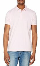 French Connection Men's Cotton Polo Shirt Top T-shirt New Sure Pink Melange