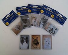 Dog Fridge Magnet by UK artist *  Over 200 Breeds and Images To Choose From *
