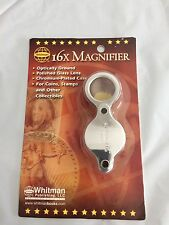 New Whitman publishing Jeweler Harris Loupe  16x Magnifier BRAND NEW IN PACKAGE