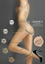 New Womens Shaping Tights Waist Firm Control Compression Hosiery UK Size 8 10 12