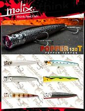 Artificiale spinning Molix POPPER 130T 13cm 38gr. top water