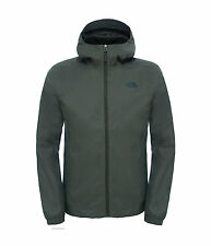 The North Face Quest Capucha Impermeable Chaqueta Entallada Tnf Negro Alpinismo