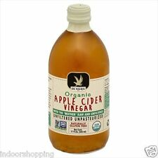 ORGANIC APPLE CIDER VINEGAR WITH THE MOTHER RAW AND UNFILTERED UNPASTEURIZED