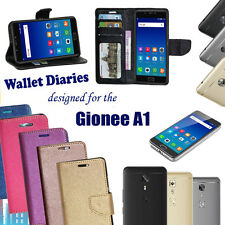 DIARY WALLET STYLE FLIP FLAP FOLIO COVER CASE For GIONEE A1