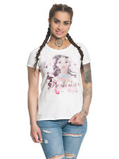 Pocahontas Indian Flower Damen T-Shirt Weiß