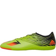 adidas Mens MESSI 15.3 IN Indoor Football Boots Semi Solar Slime/Solar Red/Core