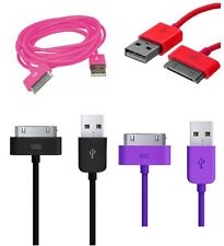 Color 1M Long USB Data SYNC 4G Charger Charging Cable Lead For iPhone iPod iPad