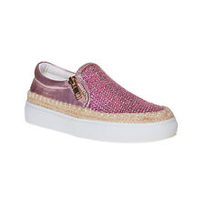 MINI B Slip-on rosa da bambina con paillettes Slip-on rosa da bambina con paille