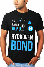 My name is Bond Science Tshirt - Geeky Tshirts by The Banyan Tee