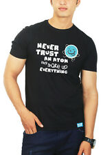 Never trust an Atom Science Tshirt - Geeky Tshirts by The Banyan Tee