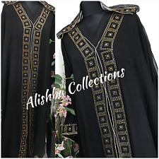 HOODED CAPE Dubai Style Abaya Wedding abaya  Farasha Maxi Dress Jalabiya kaftan