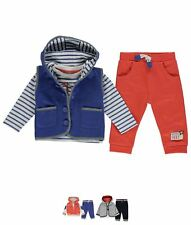 SPORTIVO  Crafted Three Piece Jacket Set Baby Boys 56700018