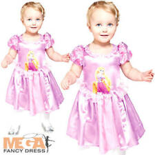 Princess Rapunzel Infants Fancy Dress Disney Tangled Girl Toddler Costume 3-24 M