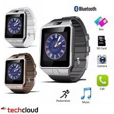 DZ09 Bluetooth Smart Watch For Android HTC Samsung iPhone iOS Camera SIM Slot UK