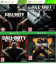 Black ops Xbox 360 / Xbox one Backward Compatible Assorted MINT Fast Delivery