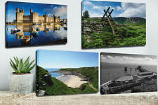 WALES CANVAS PRINTS, BRECON BEACONS, CARDIFF, ETC - MORE DESIGNS AVAILABLE