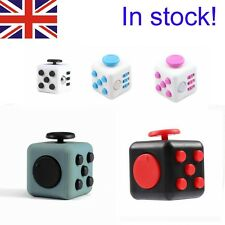 New Fidget Cube Spinner Children Adult  desk Toy Stress Relief  ADHD UK Seller