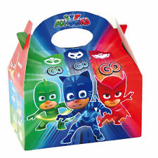 Select 1 to 35 - PJ Masks Kids Food Lunch Loot Party Treat Boxes