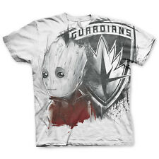 Officially Licensed Guardians of The Galaxy The Groot Allover T-Shirt S-XXL Size