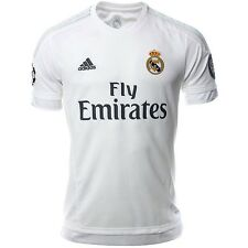 REAL H JSY UCL BLC - Maillot Football Real Madrid Homme  Adidas