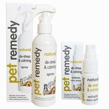 Pet Remedy Spray Naturale Calmante Antistress Per Cane Cavallo Di Gatto 15ml/