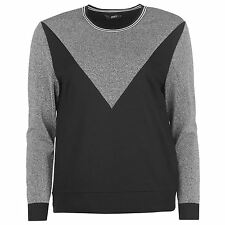 Only Elexa Crew Femme Sweat Pull Top Haut Casual Sport Manche Longue Col Rond