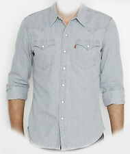 6581600840 Camisa Levi's BARSTOW OCCIDENTAL MT H115 MD GRIS PROMO