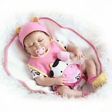 Silicone Full Body Waterproof Reborn Baby Lifelike Real Handmade Babies Dolls