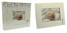 Baby Christening Photo Album, Baby Christening Day Photo Frame Christening Gift