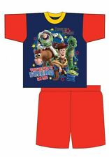 Brand New 2017 Boys Toy Story Youve Got A Friend In Me Short Pyjamas - Blue/Red
