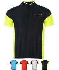 GINNASTICA Muddyfox Cycling Short Sleeve Jersey Mens White/Red
