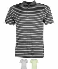 SPORTIVO Nike Iconic Stripe Polo Shirt Mens Grey/Grey/Black